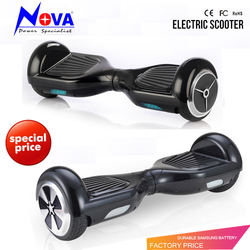 Mini Cool Smart two wheel smart self balance electric scooter hoverboard electric skateboard