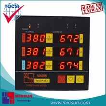 MSDP-883 V A Integrated Six Windows Meter with Alarm Output
