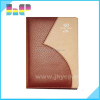 2016 Shenzhen Leather Cover Notebook Printing