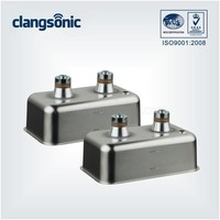 Supersonic portable mini digital denture ultrasonic cleaner bath