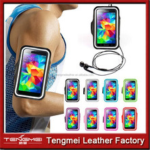 hand band mobile phone PU leather case for samsung galaxy A7, leather phone case for big phone