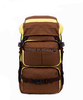 Brown Expandable Trolley Travel Bag 2015 Young Style