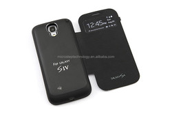Rechargeable new model for samsung galaxy s4 mini 3000mah external battery case, backup battery case