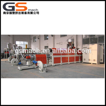 Supply equipment for making PVC cable material granules