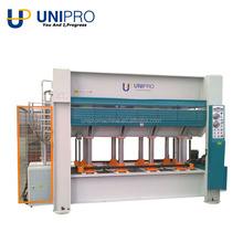 RYJ100T/1 model Qingdao unipro wooden door plywood hydraulic hot press machine