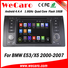 Wecaro WC-BW7018 Android 4.4.4 car dvd player for BMW E53 X5 2000 - 2007 with radio 3G wifi playstore