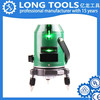Strong light spirit self-leveling mini cross line green beam laser level