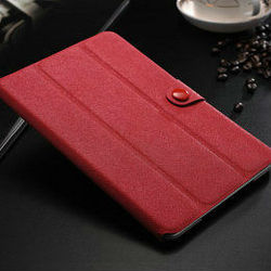 2015 China Best New Fashion design stand book style cross pattern leather case cover for ipad mini