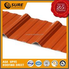 plain insulation modern plants design red pvc building materials color roof