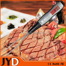 JYD DTF12B 2015 New Digital BBQ Probe Thermometer, Digital LCD Oven Thermometer, Digital Cooking Temperature Thermometer