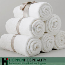 Luxury 5 Star Hotel White Plain Cotton Bath Towel
