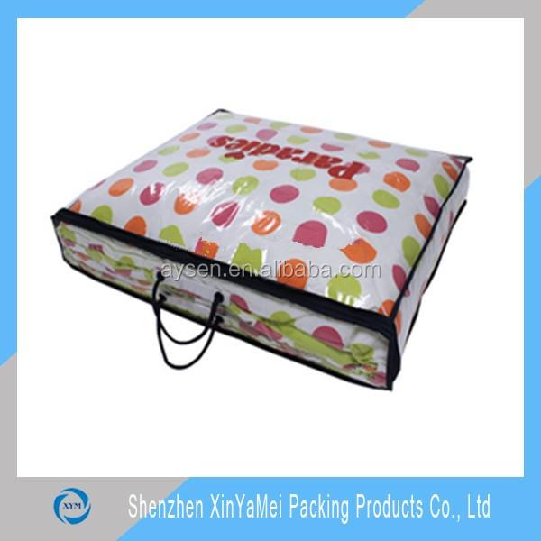 毛布の包装袋明確なポリ塩化ビニール/ピロー包装袋