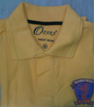 Promotional T Shirt With Embroidery and Applique