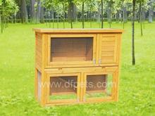 Build Your Own Rabbit Hutch or Guinea Pig Hutch Easy Woodworking Plan On CD DFR029