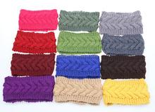 2015 fashional crochet girl women knitting pattern hair band