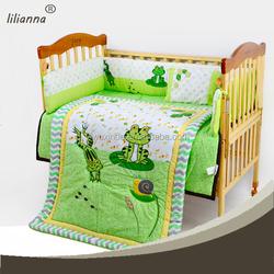 boys bed in a bag applique baby bedding set european baby bedding set