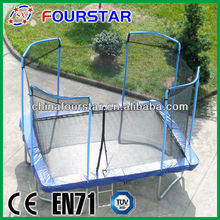 Cheap High Quality Square Big Trampoline for Playing And Entertainment for Sale