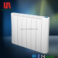 Portable designer slimline electric wall heaters