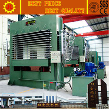 ce certificated plywood hot hydraulic press