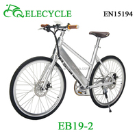 CE APPROVAL EB19 electric bike with hidder battery