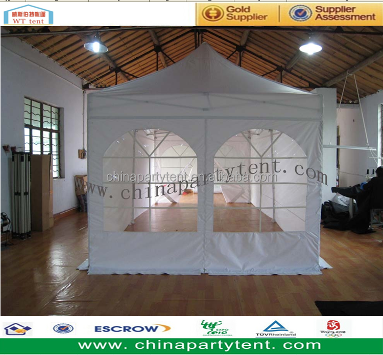 Portable Exhibition Tents : Portable aluminum folding tent canopy custom printing