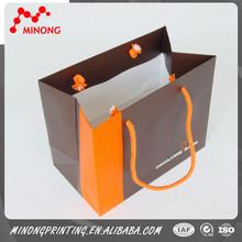 2015 High quality popular paper shopping bag printing