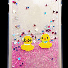 Ulrta thin TPU phone case for iPhone 6 Cute floating Rubber Duck case made in China