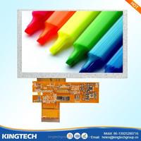 5.0 inch 800X480 dot matrix lcd module high definition and high brightness 450 nits