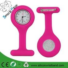 Fashion colorful silicone medical nurse watch cheap silicone pocket nurse watches nurse doctor medicine watch