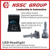 NSSC H4 conversion Cree LED Headlight Kit 9007 LED Headlight bulbs