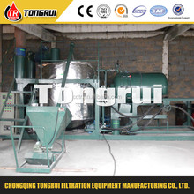 Used motor oil black oil regeneration plant waste engine oil recycling machine