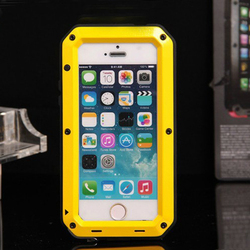 full cover Phone Case,for iPhone 5 Phone Case, for iPhone 5s Luxury Metal Case
