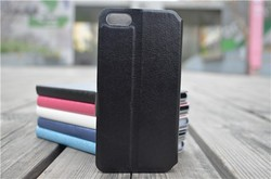 Luxury Leather Flip I5 Wallet Cover Case For iPhone 5 5S