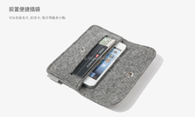 New design high quality fashionable cute felt mobile phone cover