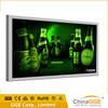 High brightness outdoor car LED backlight fabric light box with silk signboard