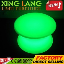 cheap good quality Chinese furniture LED pub tables and chairs