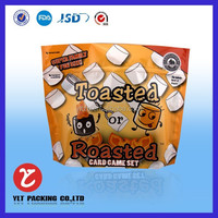 Hot sale! Gravure printing VMPET sterile plastic bags for foods