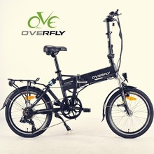 20 inch 36V 10.4Ah brushless rear motor folding electric bike with li thium battery XY-EB001F