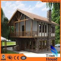 Low Cost Eco Prefabricated True Core Steel 3D Bunglow House Plans
