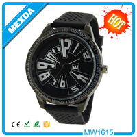 New design 3atm water resistant stainless steel back man quartz watch