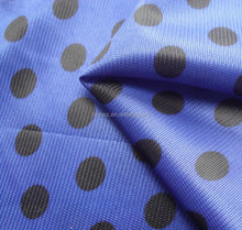 100% Polyester Dot Printed Tricot Fiber