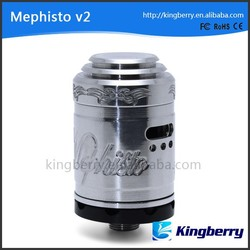 unique design ,adjustable airflow clone Mephisto V2 RDA atomizer mephisto v2 rda clone mod