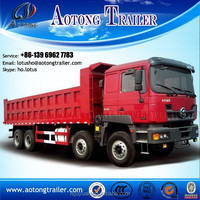 Tipper trailer for sale in dubai for coal/ore/building materials transportation with rear optional