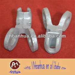 Electric hardware Y type socket clevis eye for power line