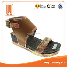 Fancy top quality platform sandal sex high heel heels