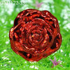 Indian decorative glass rose flower