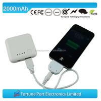 2014 hot sales unique li-polymer portable power bank /mobile charger