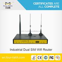 load balance dual sim card router with 4LAN port F3B32 for pubilc/car/vehicle/bus/ship WIFI hotspot application