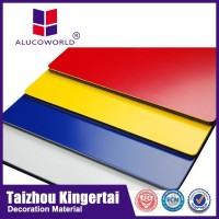 Alucoworld building material acp/acm exterior colorful building material walls panels