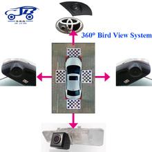CJB-360B 360 view car camera system c600 full hd 1080p car dvr